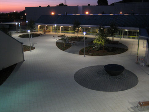 Marin Health and Wellness Campus at dawn