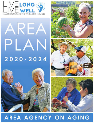 Image of the cover of the 2020-2024 Area Plan on Aging