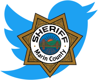 Visit the Marin Sheriff Twitter account for up-to-date emergency information in Marin County.