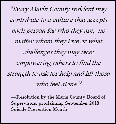 Quote from Marin County Board