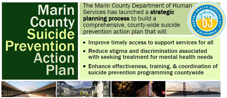 Marin County Suicide Prevention Action Plan