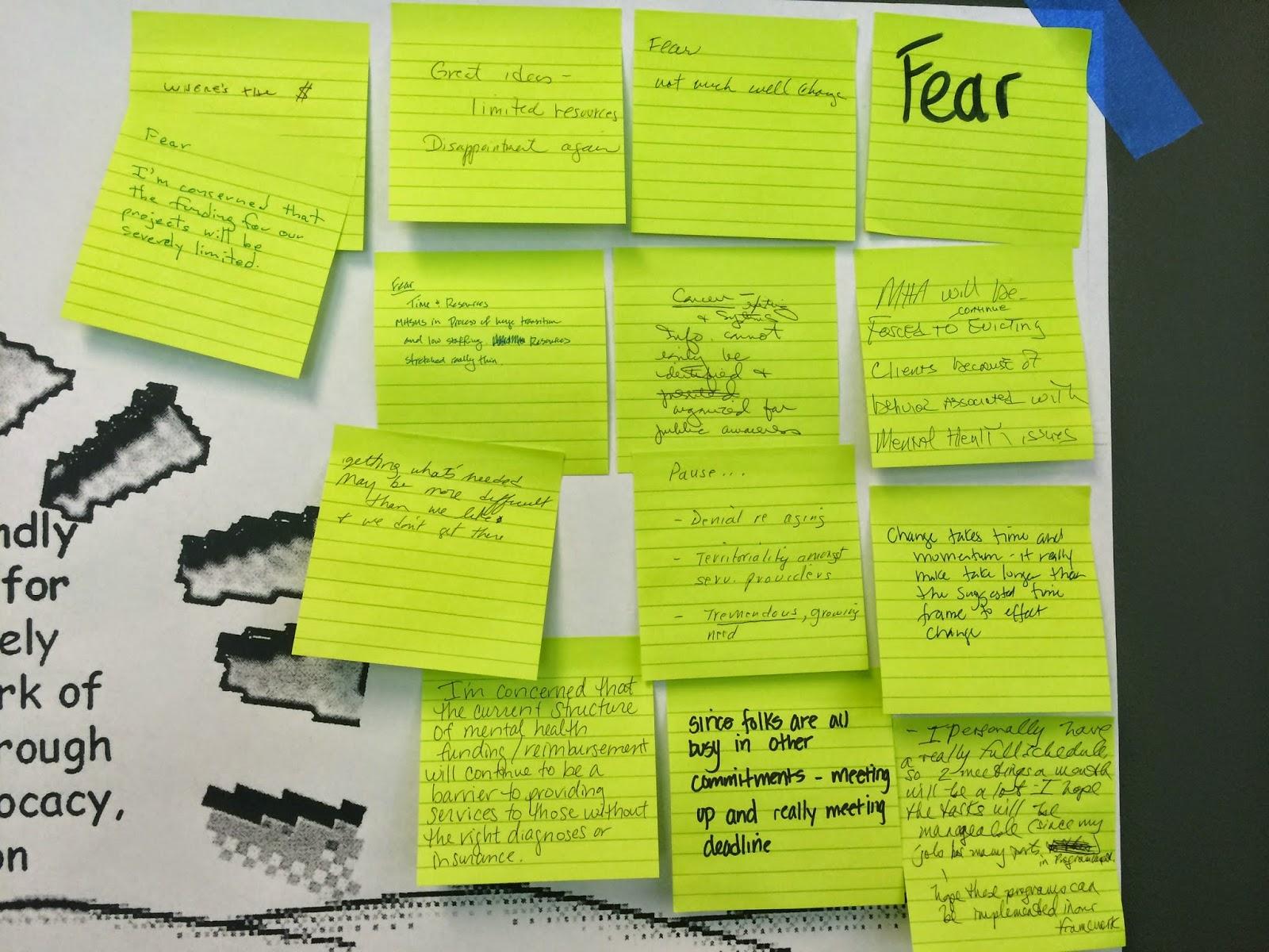 Mental Health Fear Closeup