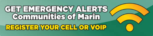 Get emergency alerts through Alert Marin.