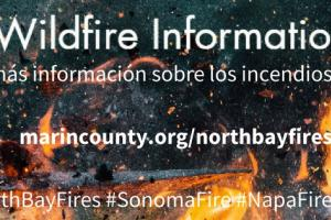 North Bay Wildfires Image
